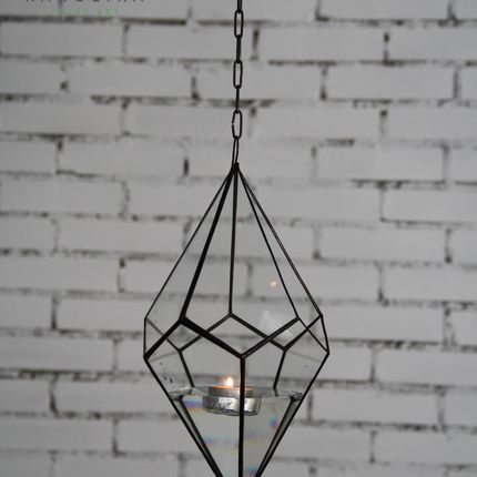 """Геометрическая форма """"Подвесной кристалл"""""""