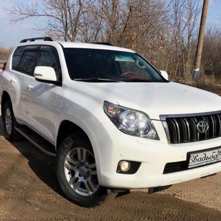 Аренда Toyota Prado белая