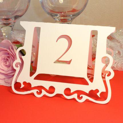 Номер для стола 2