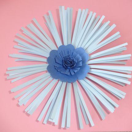 Цветок для декора Северное сияние