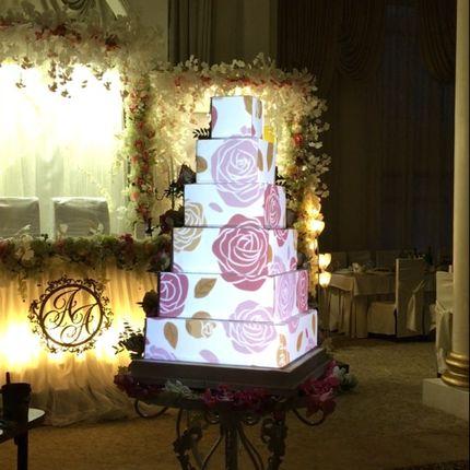 3D mapping шоу на торт Стандартный контент