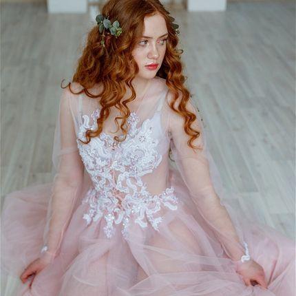 """Будуарное платье """"Нежность рассвета"""""""