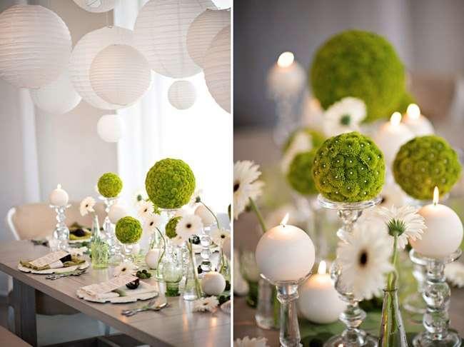 бело-зеленая гамма - фото 1524317 DY.Art - свадебное оформление