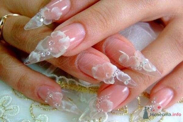Фото 47115 в коллекции Мои фотографии - Наращивание ногтей - частный мастер Malina