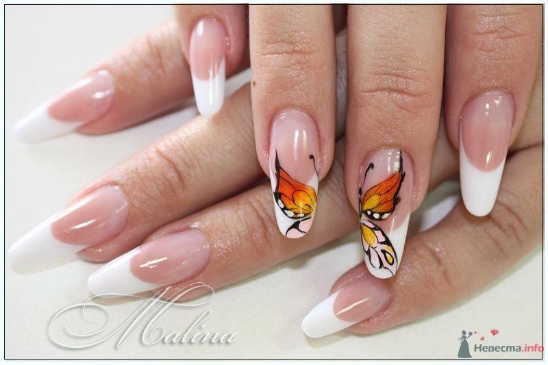 Фото 47119 в коллекции Мои фотографии - Наращивание ногтей - частный мастер Malina