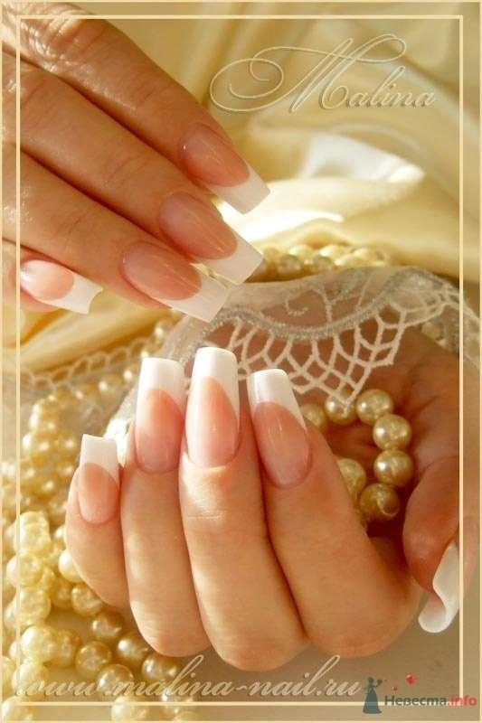 классика... - фото 47123 Наращивание ногтей - частный мастер Malina