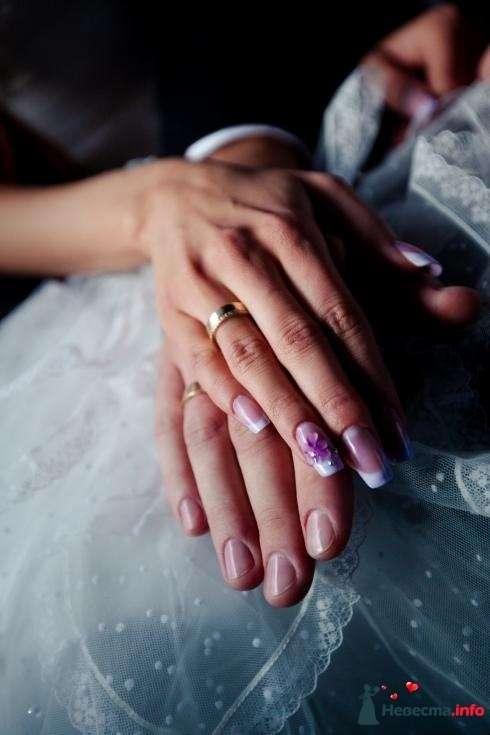 Фото 82457 в коллекции Мои фотографии - Наращивание ногтей - частный мастер Malina