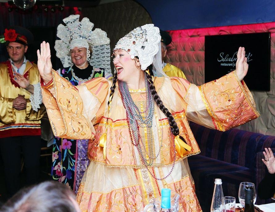 Надежда Бабкина и её пляски с гостями - шоу