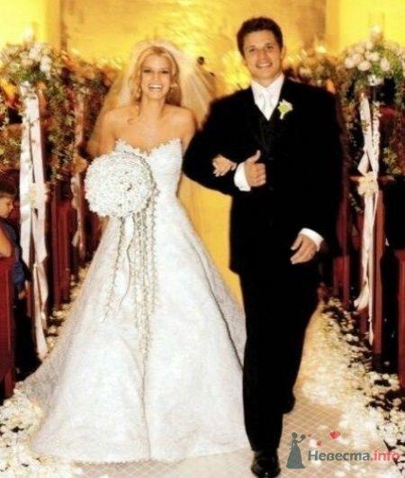 Фото 55751 в коллекции свадебные платья знаменитостей - ВаленТинка:)