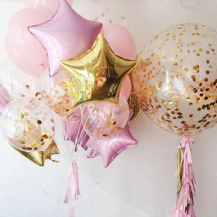 Блестящий день - оформление шарами
