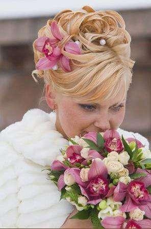 Фото 2587389 в коллекции цветы в прическе - Цветочный магазинчик - услуги оформления