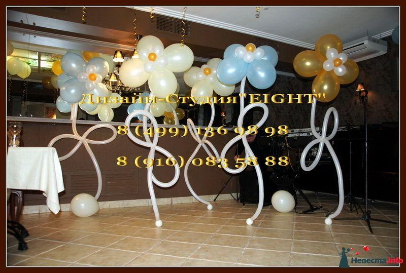 """Фото 110825 в коллекции Оформление воздушными шарами - """"Эйт"""" - оформление свадьбы воздушными шарами"""