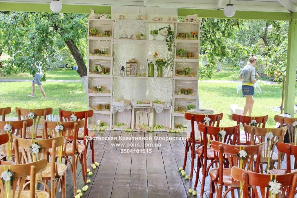 Фото 871221 в коллекции свадебное оформление зала,церемонии - Флорист Полина Школьникова