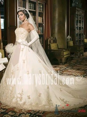 Фото 53810 в коллекции самые разные свадебные платья