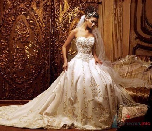 Фото 53817 в коллекции самые разные свадебные платья
