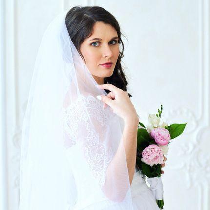 Свадебный образ (макияж и прическа с выездом)