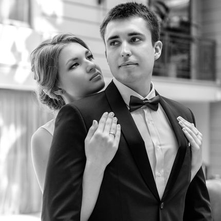 Свадебный образ с выездом