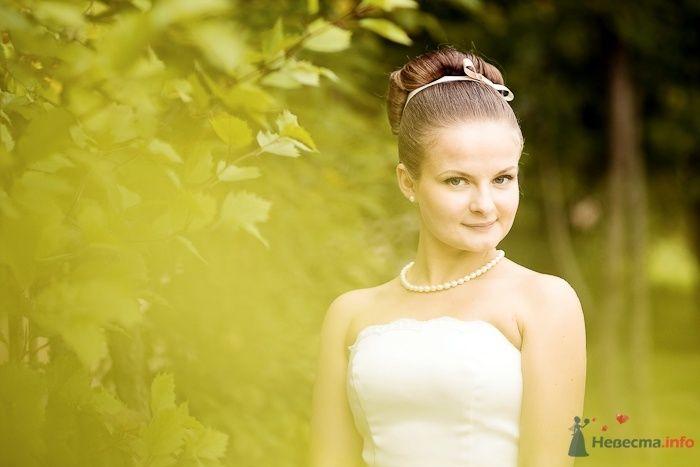 Невеста с бусами из жемчуга - фото 57852 Фотограф Владимир Будков