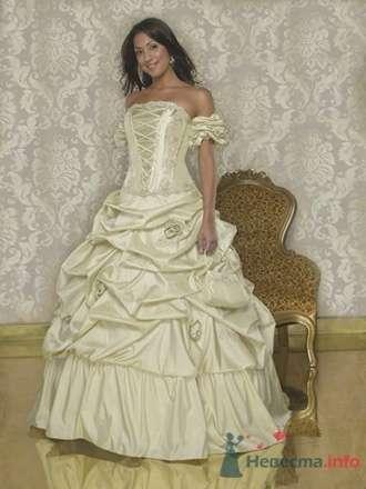 Свадебное платье Quinceanera Q959 - фото 2716  Weddingprof - роскошные свадебные платья