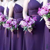 Лиловое для подружек невесты