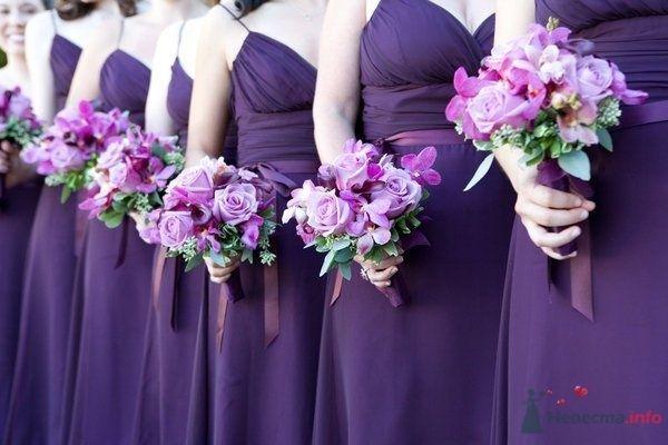 Лиловое для подружек невесты  - фото 50514 Свадебный распорядитель - Бедрикова Оксана