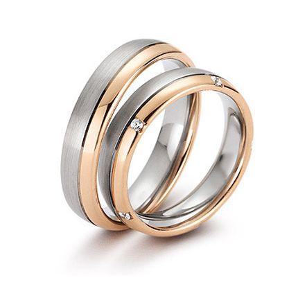 Обручальное кольцо с бриллиантом W0098