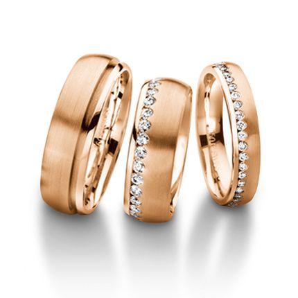 Обручальное кольцо с бриллиантом W0096