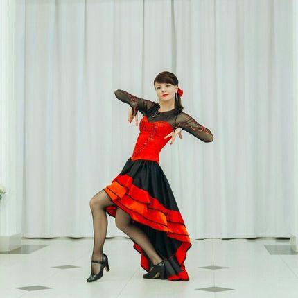 Испанский танец, 3 минуты