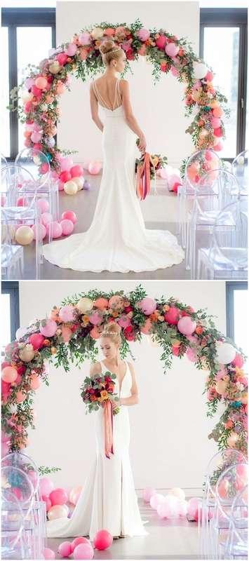 Фото 17357140 в коллекции Декор для свадьбы, девичника, фотосессии и др. - Pink Sky Balloons