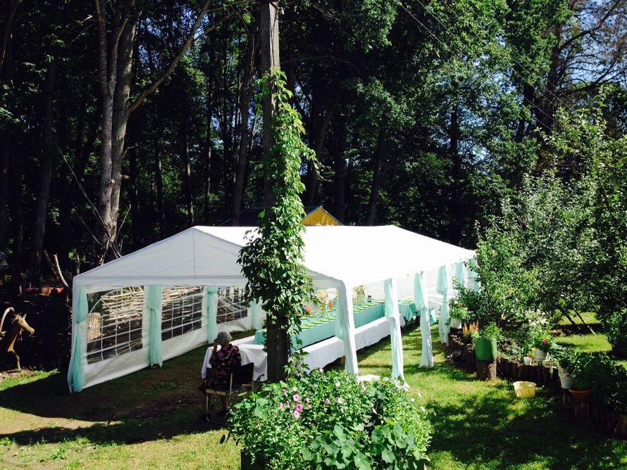 Шатер 5х10 (банкет до 50 человек) - фото 17413564 Beautiful Day ВН - аренда шатров и оформление