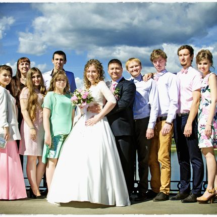 Полный день свадьбы - видео и фотосъемка - 2 оператора