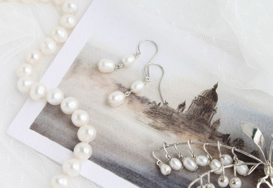 Фото 17469302 в коллекции Ювелирные украшения из серебра - Mellnikova - свадебные аксессуары