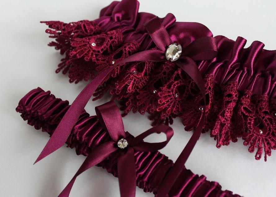 Фото 17469314 в коллекции Подвязки невесты - Mellnikova - свадебные аксессуары