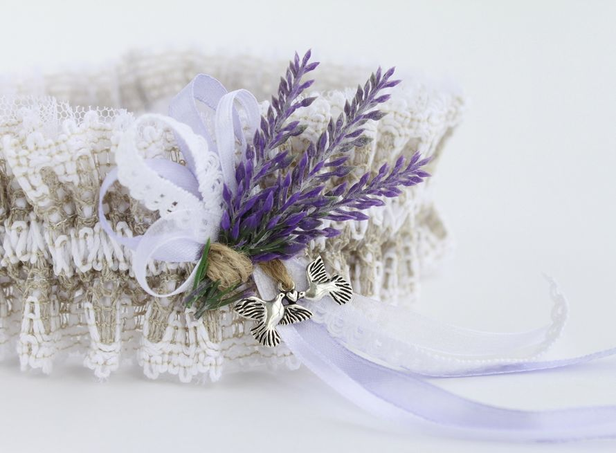 Фото 17474308 в коллекции Подвязки невесты - Mellnikova - свадебные аксессуары