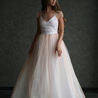 """Платье """"Персиковая Фея"""", цвет: айвори - персик."""