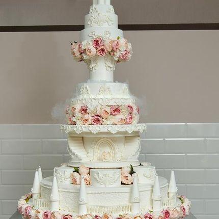 Торт-замок - 2 метра
