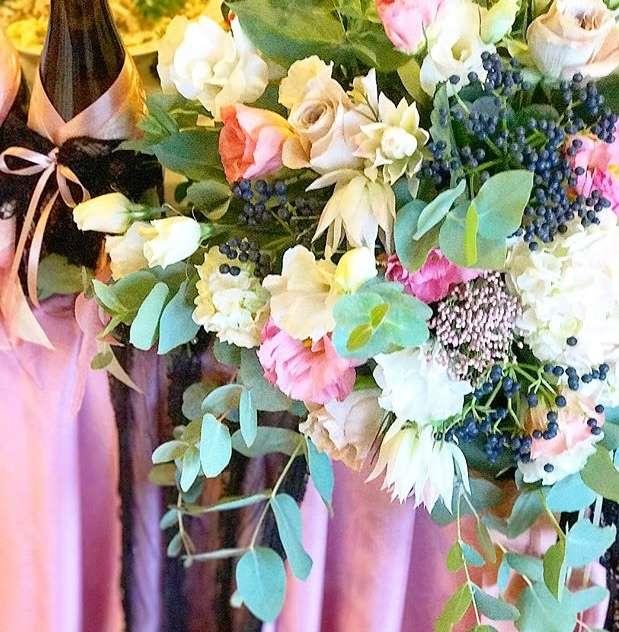 Фото 17537780 в коллекции Оформление свадеб и выездные регистрации - Твой букет - оформление торжеств