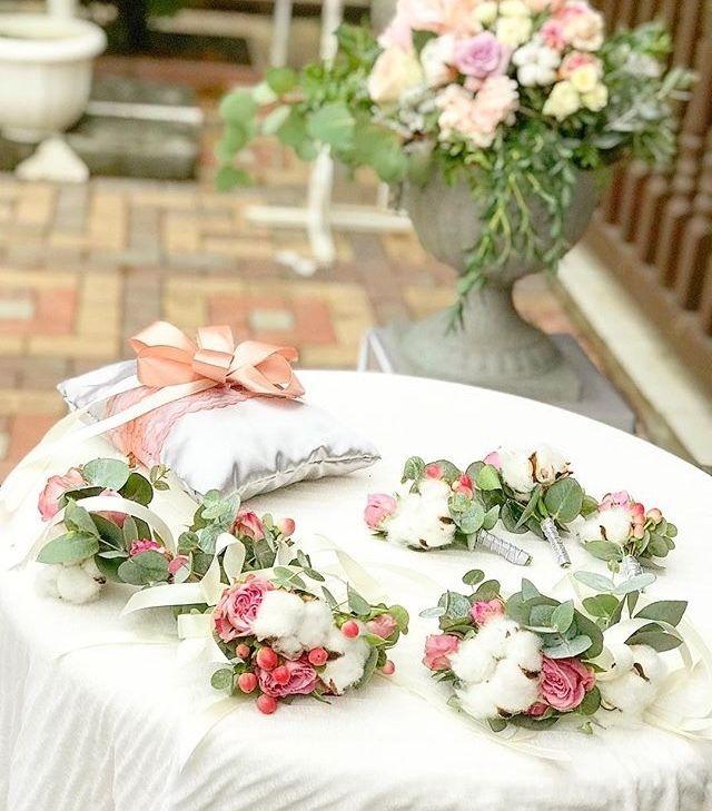 Фото 17537812 в коллекции Оформление свадеб и выездные регистрации - Твой букет - оформление торжеств