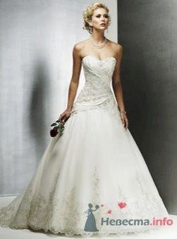 Мое платье. Когда видела картинку,даже внимание не обратила.Оказалось оно ТАКООООе красивое...) - фото 55735 Oktava