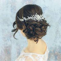 Украшение для свадебной прически