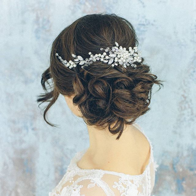 Украшение для свадебной прически - фото 17548946 Екатерина Захарова - украшения для волос