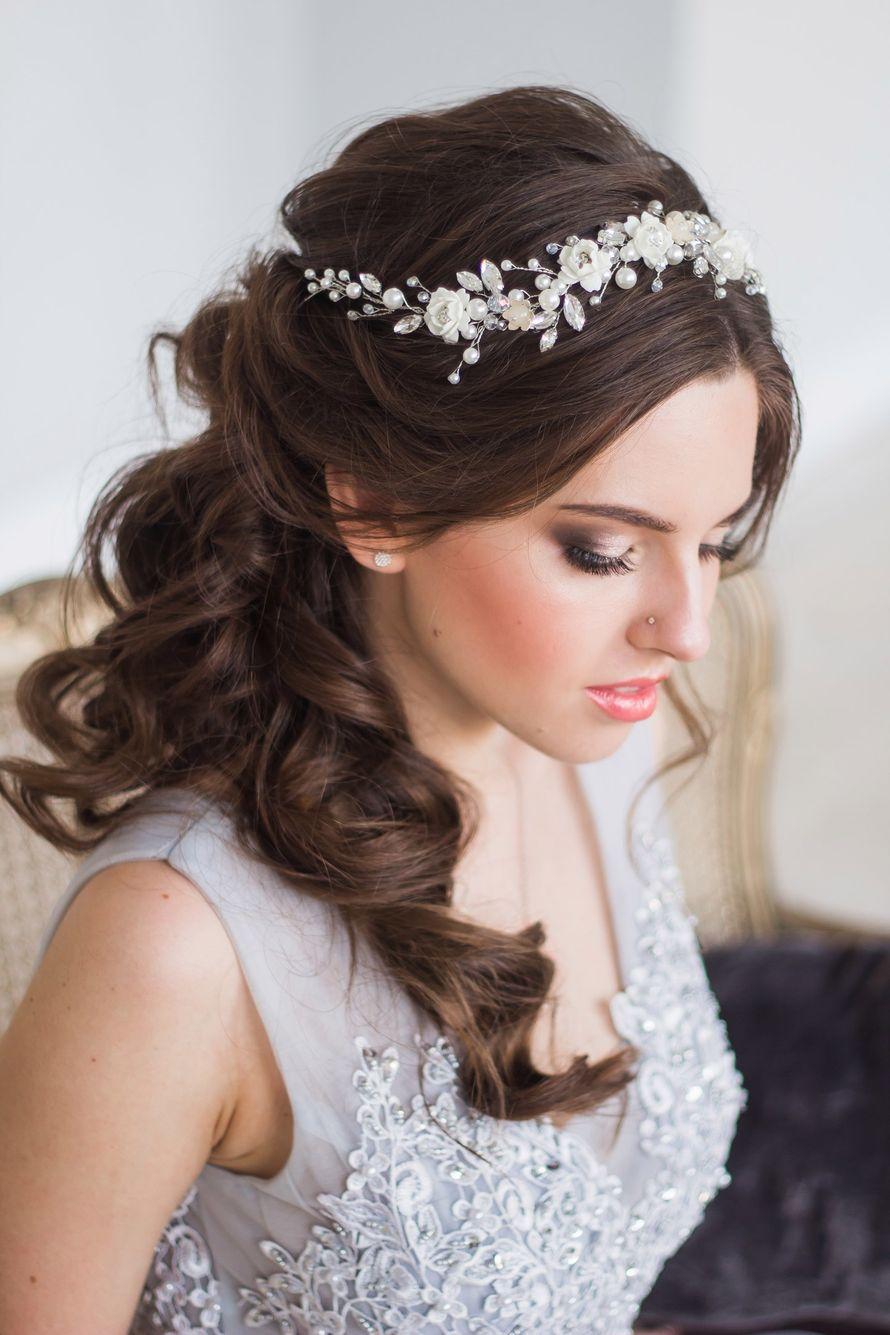 Веночек для свадебной прически. Стоимость 1950 руб. - фото 17548954 Екатерина Захарова - украшения для волос