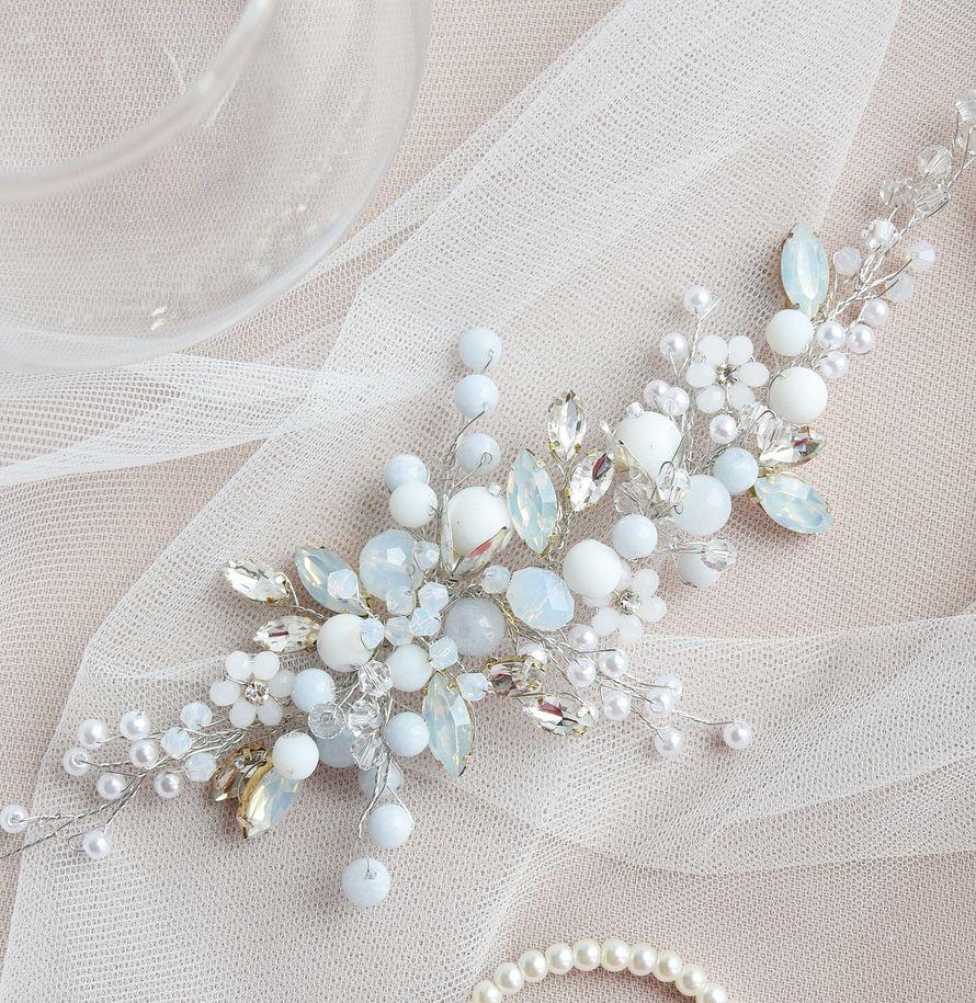 Свадебная заколка для прически 1650 руб. - фото 17549092 Екатерина Захарова - украшения для волос