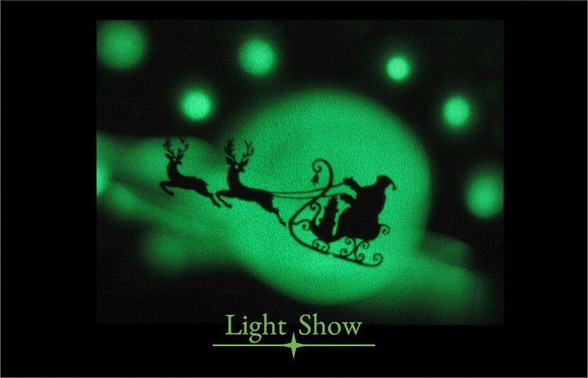 Шоу световых картин