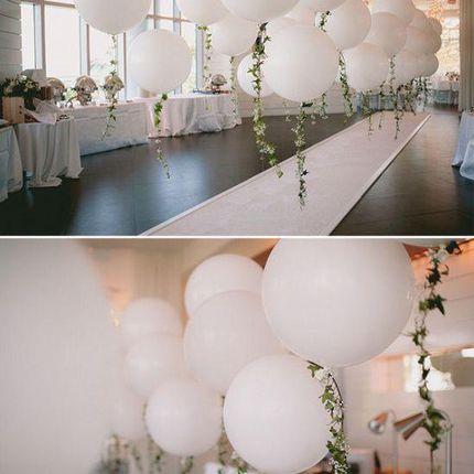 Воздушные шары гиганты в оформлении