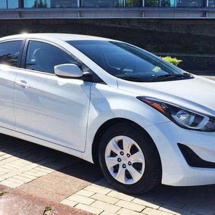 168 Hyundai Elantra белая прокат, 1 час