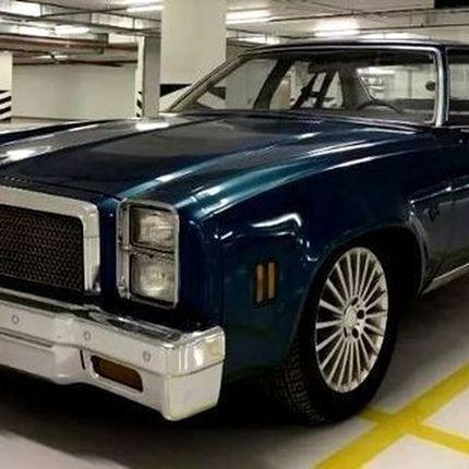 387 Ретро авто Chevrolet Malibu Classic blue в аренду
