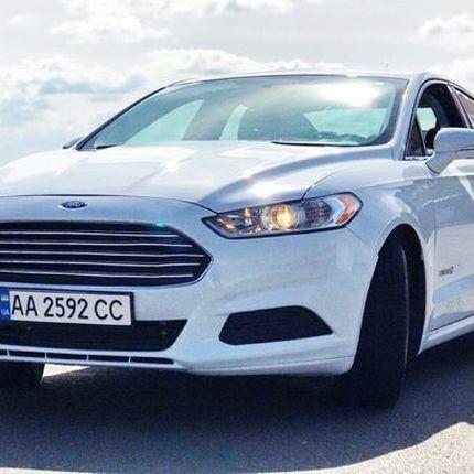 368 Ford Fusion 2015 белый в аренду