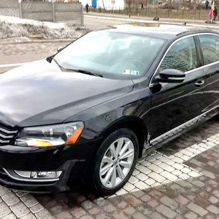 340 Volkswagen Passat B7 чёрный в аренду