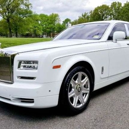 058 Rolls Royce Phantom белый аренда, 3 часа
